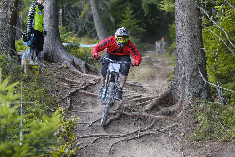 Fotenie Downhill preteku Orava