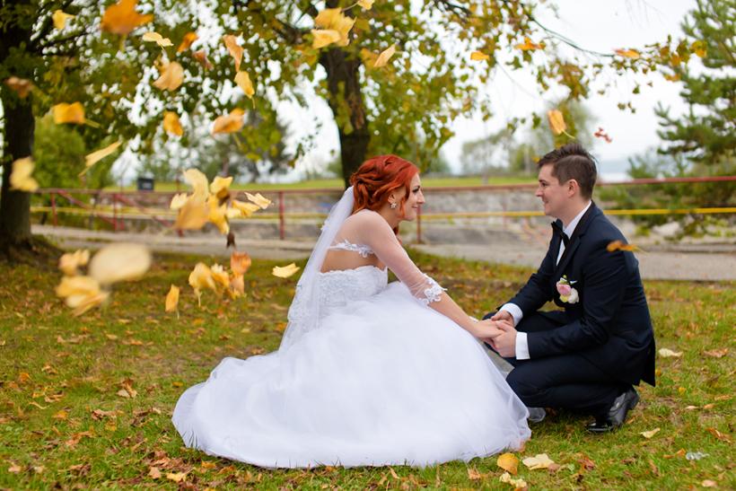 Fotenie svadby - farby jesene