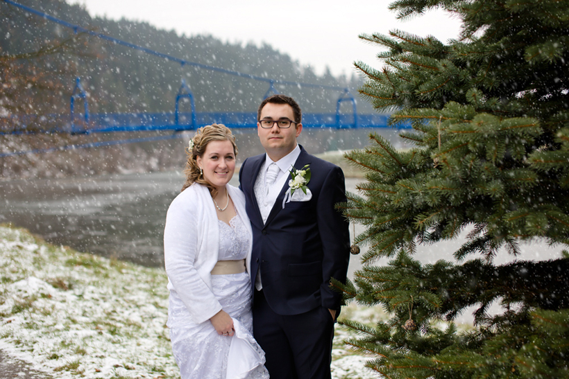 Fotenie svadby zima Dolný Kubín