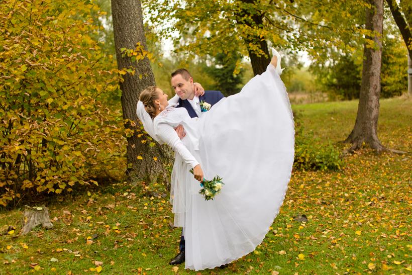 Fotenie oravskej svadby
