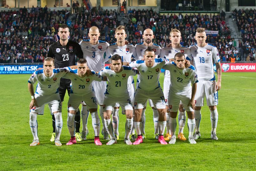 Fotenie futbalu Slovensko - Ukrajina