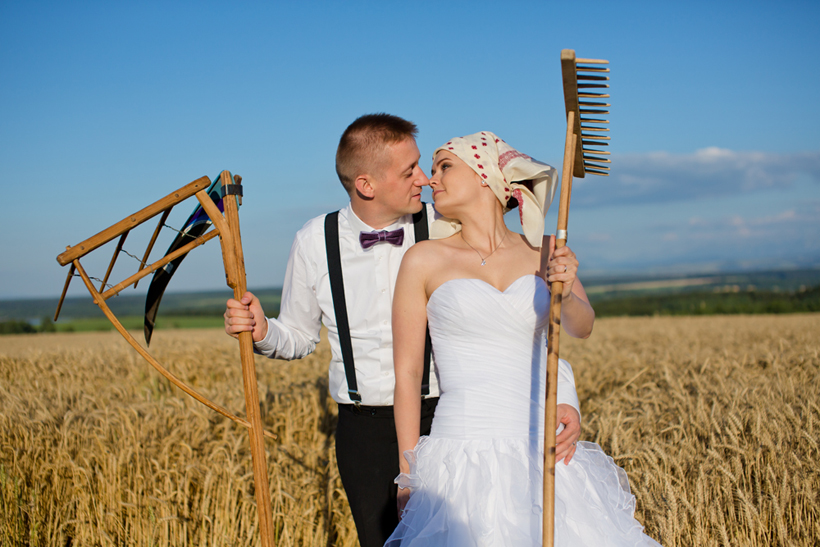 Fotenie Goralská svadba - ľudová tématika