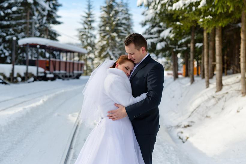 Oravská svadba v zime