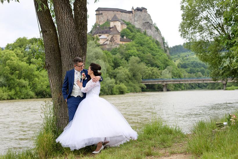 svadobne fotenie Oravský hrad